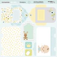 Бумага конверты, коллекция Smile Baby