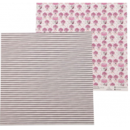 Бумага коробочки с цветами, коллекция на_шпильках