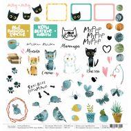 Бумага кошки-мышки, коллекция моя котя