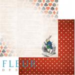 Бумага кролик, коллекция в стране чудес