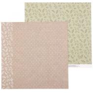 Бумага листья, коллекция RusticWedding