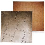 Бумага льняная ткань, коллекция Military