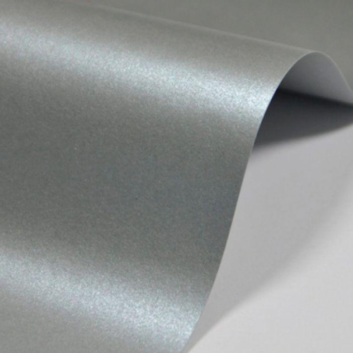 Бумага лунное серебро А4 290 г/кв. м для скрапбукинга