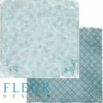 Бумага метель, коллекция зимние узоры