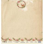 Бумага оленёнок, коллекция сказочное Рождество