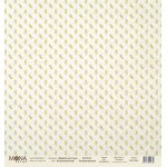 Бумага осенние веточки, коллекция акварельная осень