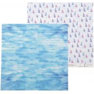 Бумага парусники, коллекция морское приключение