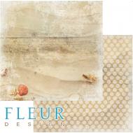 Бумага песочный берег, коллекция лагуна