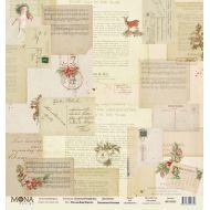 Бумага письма Деду Морозу, коллекция сказочное Рождество