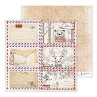 Бумага письма из леса, коллекция лично в руки
