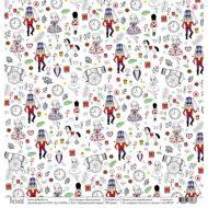 Бумага праздничный марш , коллекция Щелкунчик