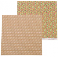 Бумага разноцветные листья, коллекция добрая сказка