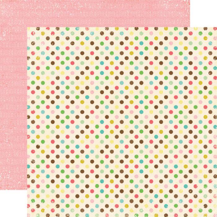 Бумага Seeing Spots, коллекция Life is Good для скрапбукинга