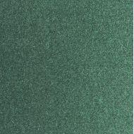 Зеленая блестящая заготовка для открытки 14х14 см
