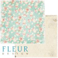 Бумага шелковый платок, коллекция забытое лето