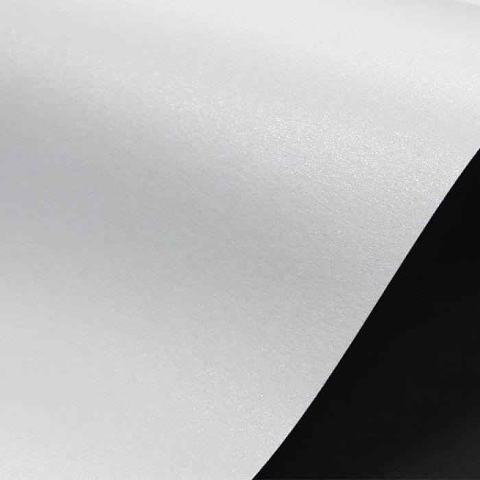 Бумага Сирио Перл полярный рассвет (белый) А4 125 г/кв. м для скрапбукинга