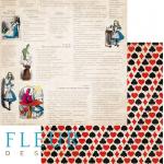 Бумага сказка, коллекция в стране чудес