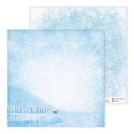Бумага сказочные снежинки, коллекция зимние забавы