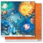 Бумага солнечная система, коллекция космос