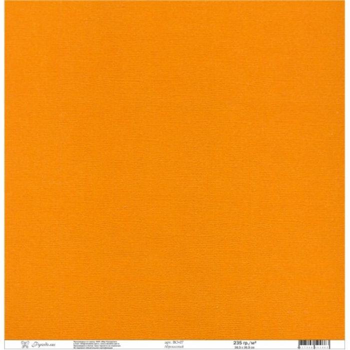 Бумага текстурированная абрикосовая для скрапбукинга