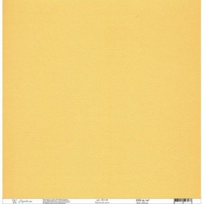 Бумага текстурированная мускусная дыня для скрапбукинга