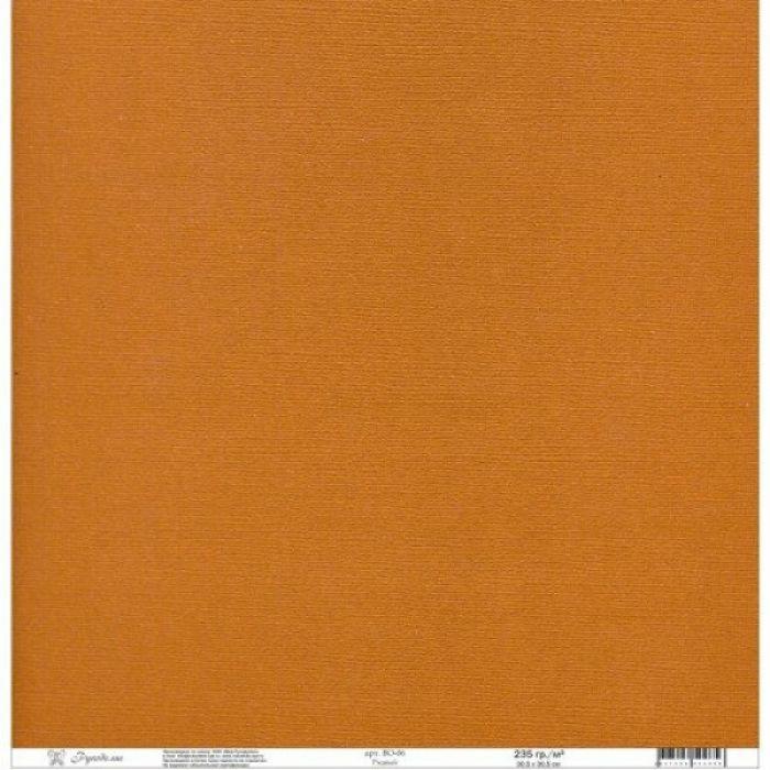 Бумага текстурированная ржавая для скрапбукинга