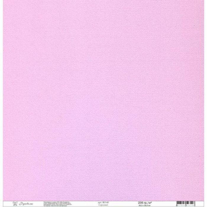 Бумага текстурированная сиреневая для скрапбукинга