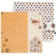 Бумага тепла и уюта, коллекция пряности и радости