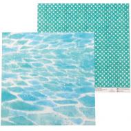 Бумага в объятиях волн, коллекция сочное лето