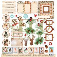 Бумага волшебная зима, коллекция зимние сны