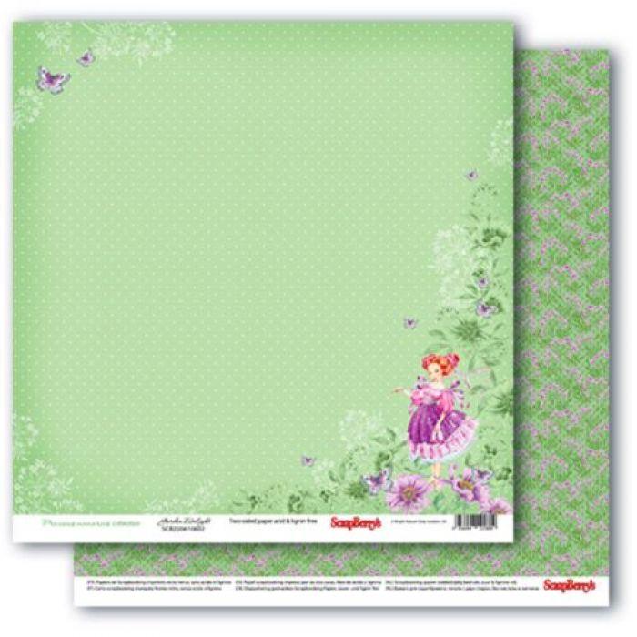 Бумага восхитительный сад, коллекция Навстречу грезам для скрапбукинга