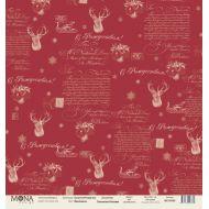 Бумага яркий день, коллекция сказочное Рождество