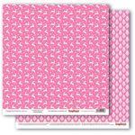 Бумага звездная ночь.розовое наваждение, коллекция зимние контрасты