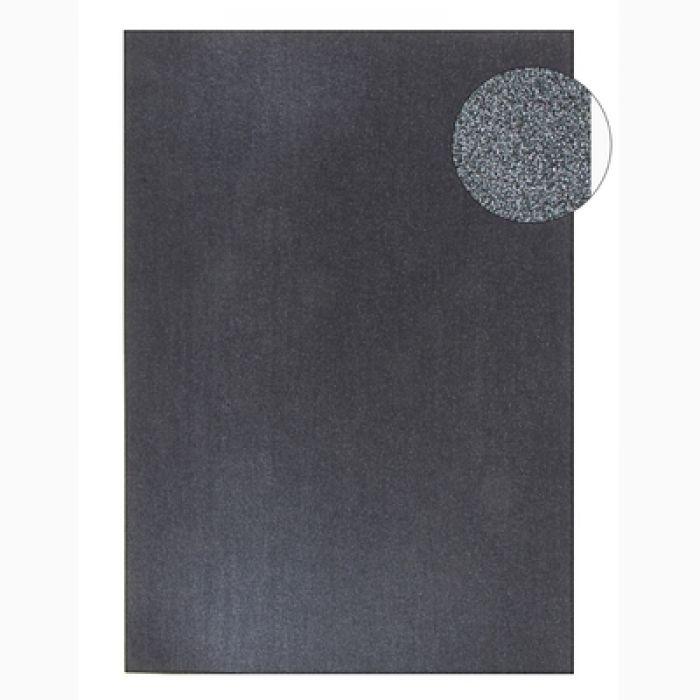 Черный жемчужный картон односторонний А4 для скрапбукинга