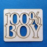 Чипборд 100% boy