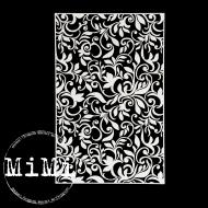 Чипборд цветочные узоры, коллекция фоны