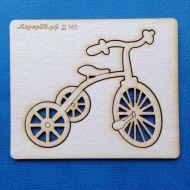 Чипборд детский велосипед