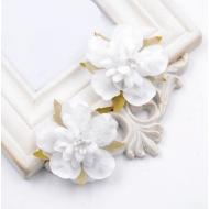 Цветы свадебные белые