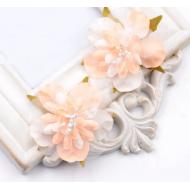 Цветы свадебные оранжевые