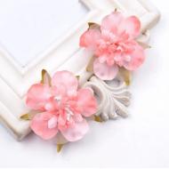 Цветы свадебные персиковые
