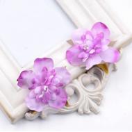 Цветы свадебные сиреневые