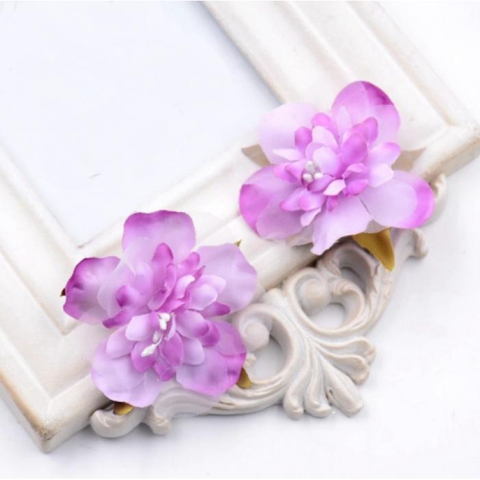 Цветы свадебные сиреневые для скрапбукинга