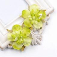 Цветы свадебные зелёные