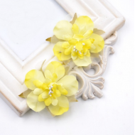 Цветы свадебные жёлтые