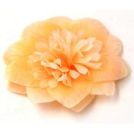 Цветы тканевые оранжевые