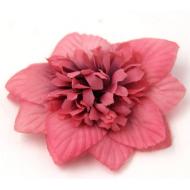 Цветы тканевые розовые
