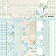 Набор бумаги цветочное кружево 15,2 х 15,2 см