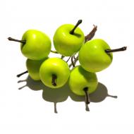 Декоративный букетик яблоки зеленые