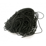 Эластичная резинка чёрная 1 мм
