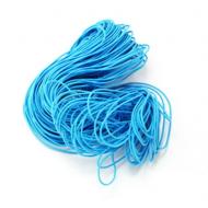 Эластичная резинка голубая 1 мм